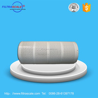 316L stainless steel filter screen with UPVC rack mounting for automatic water filter
