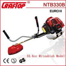 33cc gasoline 2 stroke grass cutter machine with CE EURO II