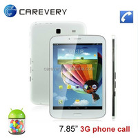 7.85 Inch 3G Dual Core Tablet PC Android 4.4/ MTK8312 Phone Call 3G Tablet PC 7.85 Inch Support GPS Bluetooth WIFI
