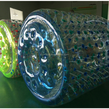Low price inflatable water roller hot sell orb wheel custom water roller