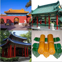 Clay Roof Material Old Chinese Roof Tiles Chinese Roof Design