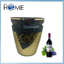 6L Top Quality Plastic Wine Chiller Large Ice Bucket for Champagne