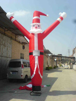 Giant Inflatable Cartoon Santa Claus For Christmas