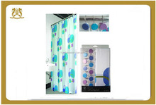 The newest design hot sell shower curtain for bathroom