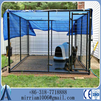 China Supplier Large Heavy Duty Galvanized Dog Kennel House Cages Manufacturer