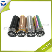 china manufacturer stainless steel mechanical mod rainbow/copper/black hades mod