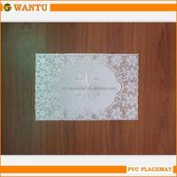 2015 Cheap Price Fucun Shentangwu PVC placemat