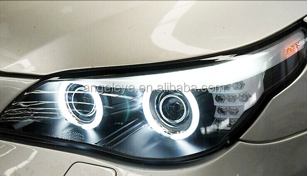 E60 523i 525i 530i Head Light Ccfl Angel Eyes For Bmw Original Car With Hid Kit D1s Xenon Light
