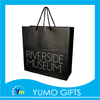 handmade custom black print logo shopping bg, collapsible shopping bag, fashion custom tote bags no minimum