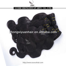 ZSY cheap wholesale hair bundles virgin natural brazilian hair pieces