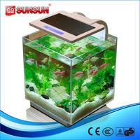 SUNSUN HKL-250 21L table glass fiber fish aquarium tank for sale