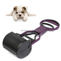Hot sales Lazy Dog Pet Handheld Pooper Scooper Jaw Poop Scoop Clean Pick Up Animal Waste