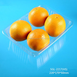 plastic blister packaging fruit and vegetable tray