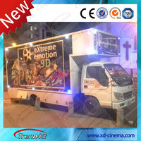 Mini cinema mobile cinema 5D simulator with hydraulic 6 seats