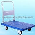 plegable transformador de la plataforma de camiones carros de ruedas de pvc