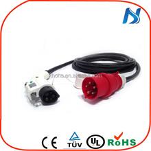 SAE Electric Vehicle PLUG J 1772 UL approval/eu 220 - 240 v 16 amp j1772