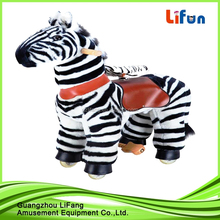 Riding stuffed horse toy& plush horse animal toy for gifts riding horse