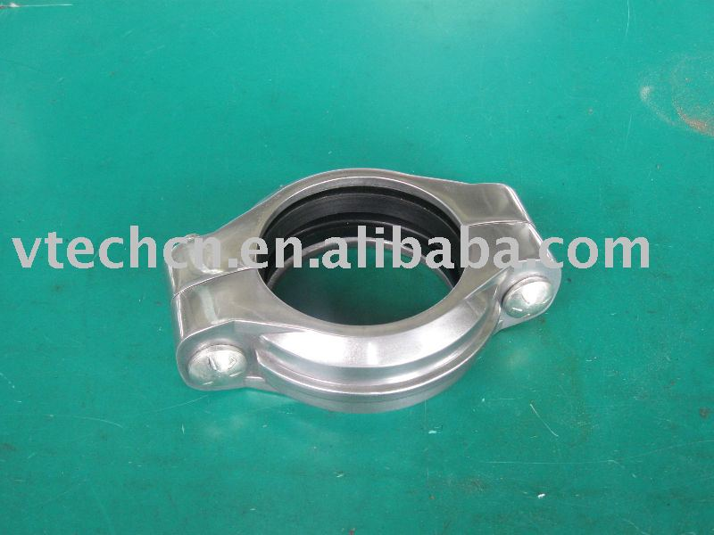 Groove lock coupling buy clamp pipe double