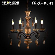Chinese antique 6 lights vintage chandelier