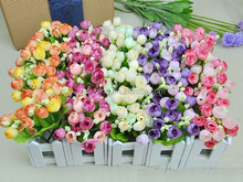 New product artificial rose bush flower