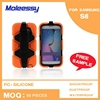 Durable hybrid 3 in 1 case for samsung galaxy s6