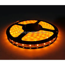 DC 12V 60LED Yellow Color Non-waterproof Flexible Cuttable LED Strip Light