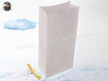 white color rectangle bottom air/ship/train sickness bag H clip