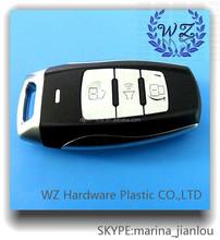 Hot sales 3 bottoms car remote key shell,key cover for car keys