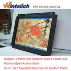 O mais novo!! Full hd 1920x1080 elevado ângulo de visão aberto monitor com tela sensível ao toque( compatível com a elo)