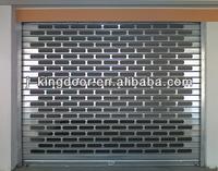 transparent shutter door