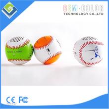 New 2015, Baseball Shape Mini Bluetooth Wireless Mobile Phone speaker