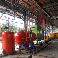the whole production line for sunflower seed oil