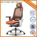 Luxo malha cadeira de escritório / cadeira ergonómica