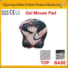 2015 hot sale custom gel full sexy photos girls mouse pad