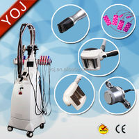 2015 hottest Vacuum Cavitation weight loss roller massager machine with laser pads