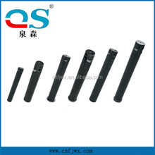 black color pin hardened steel pin excavator bucket pin sizes