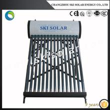 Black chrome absorber solar water heater *