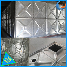 Good quality hot dipped galvanzing steel water tank with great price Chinese suppliers/famous brand