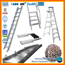 Marine Steel/Aluminium/Stainless Steel Vertical/Inclined/Rope/Gangway Ladders for Boat/Ship/Cargo/Wharf