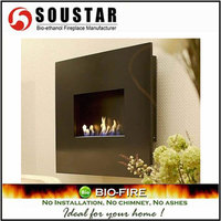 HOT New Design Plaza B, Stainless Wall Mounted Bio Cheap Fireplaces