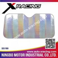 XRCING-2015 (SS190) Automatic car front windshield sun shade,laser sunshade
