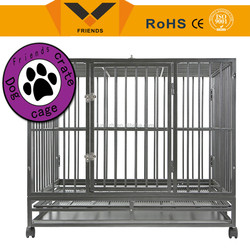 Dog kennel with stainless steel, Folding dog kennel, dog kennel