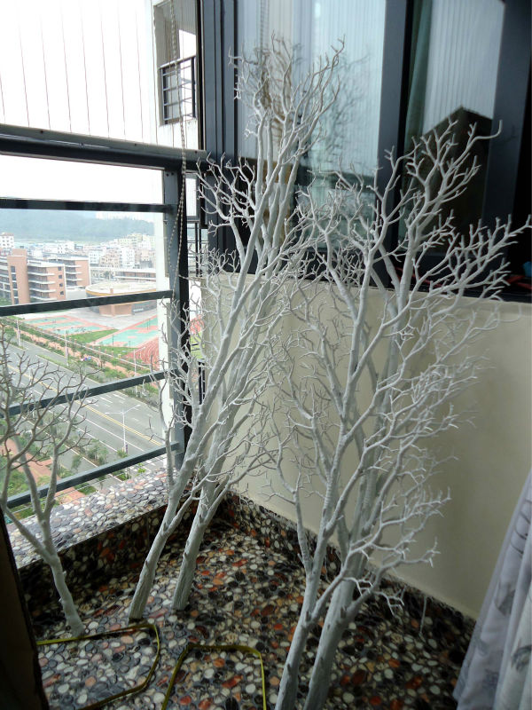Wtr gnw ft high dry tree branch decoration for