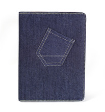 2016 of The best seller Denim Case for iPad Air 2 Tablet Covers