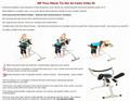 Dolor de espalda dispositivo de tracción / descompresión espinal cerca instantánea alivio del dolor dispositivo
