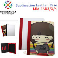 China Wholesale DIY Leather Case for iPad 2/3/4