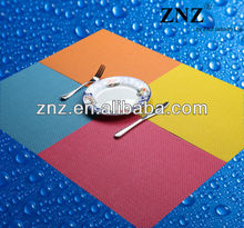 Modern Kitchen Accessories Washable Vinyl Placemats Beauty Table Mats