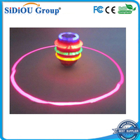 led flashing spinning top toy