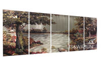 Top selling Modern 3D metal wall arts for home decoration