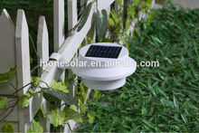 outdoor garden wall fence outdoor solar gutter led light